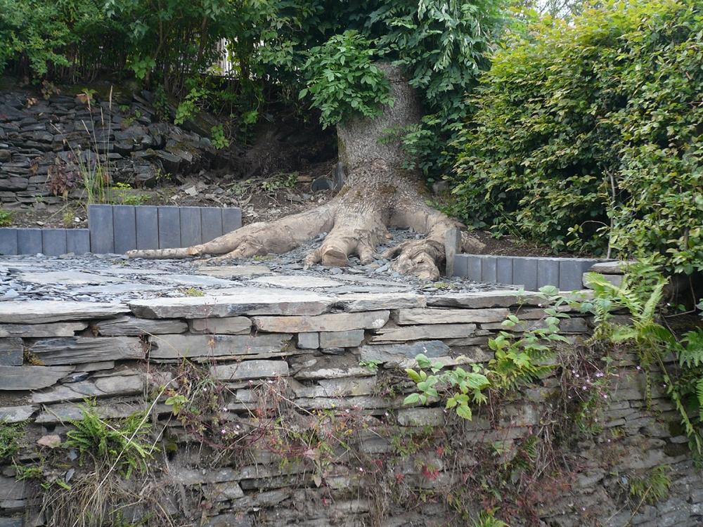 Cr ations jardin en terrasses auxylence entreprise et for Architecture de jardin